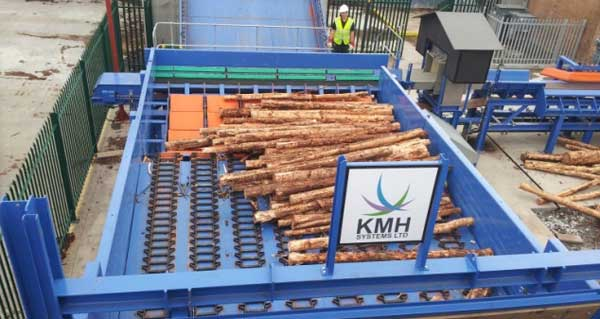 KMH Log Handling and Chipping System.
