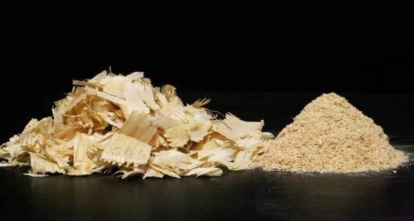 Schutte Buffalo Planer shavings to one eighth